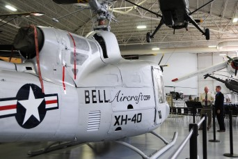U.S. Army Aviation Museum features XH-40, 'helicopter that changed world'