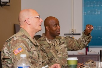 CECOM updates AMC commander on inclusion, financial stewardship efforts during inaugural brief