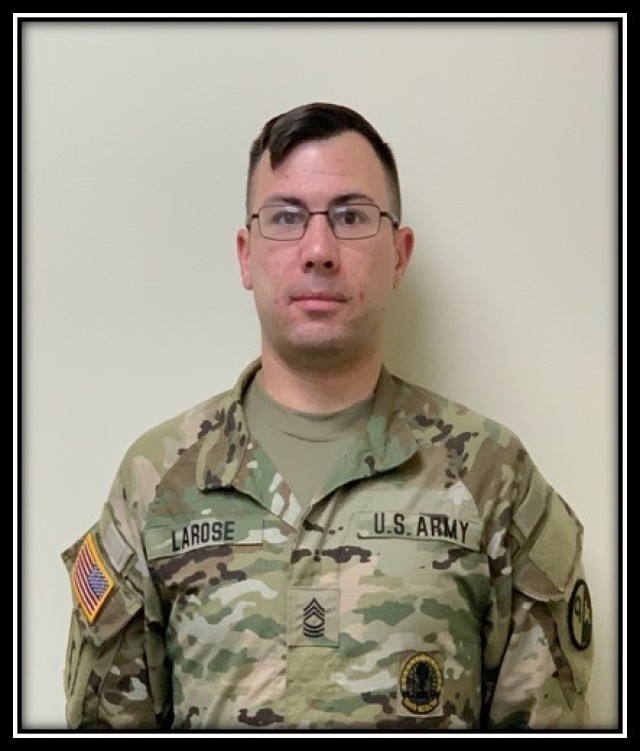Master Sgt. Raymond LaRose showcased his instructing expertise and demonstrated why he deserved to earn the master instructor title when he appeared before the 1st Brigade (Quartermaster), 94th Training Division – Force Sustainment first virtual master instructor selection board. LaRose is one of two Army Reserve Soldiers who appeared before the board.