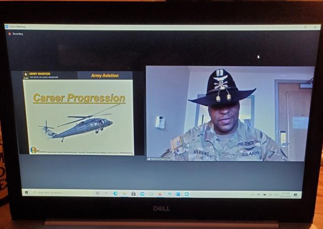 Flight school, diversity focus of Army Aviation cadet mentorship events