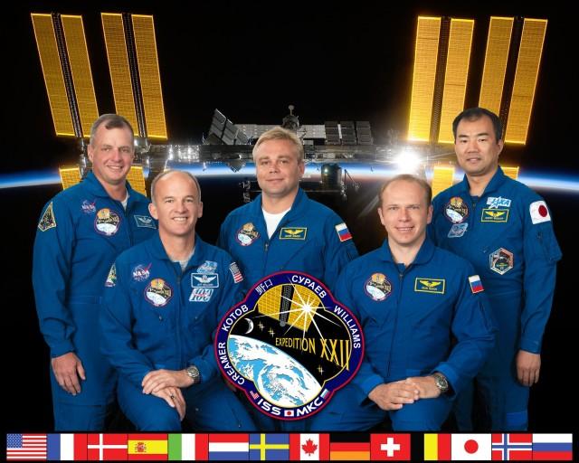 Expedition 22 Crew Portrait