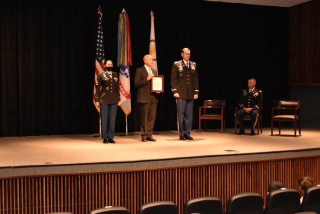 Assumption of Charter Ceremony Col. Eric E. Lyon