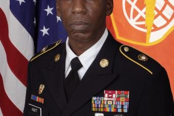 CSM Knott takes the helm as the NETCOM Command Sergeant Major