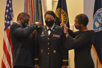 Chaplain Corps honors first active-duty African-American female colonel