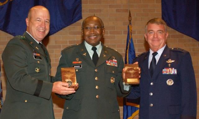 Maj. Gen. (Dr.) Elder Granger (center) is keynote speaker