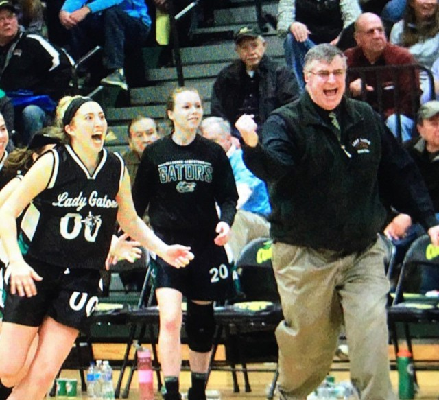 Frank Martin coached Allegany-Limestone to a 23-2 mark this past season and 302 wins during his longtime coaching career. (courtesy photo)