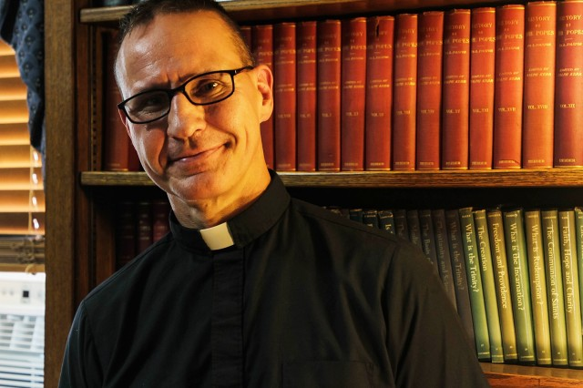 Chaplain Col. Matthew Pawlikowski (above), former U.S. Military Academy Chaplain, is now retired and is currently serving as a priest at the Most Holy Trinity Chapel.