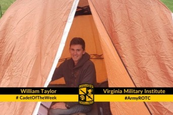 Cadet of the Week: William E. Taylor