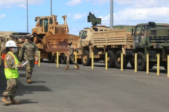 599th Trans. Bde., partners upload 25th ID for JRTC