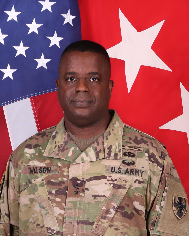 Major General David Wilson
