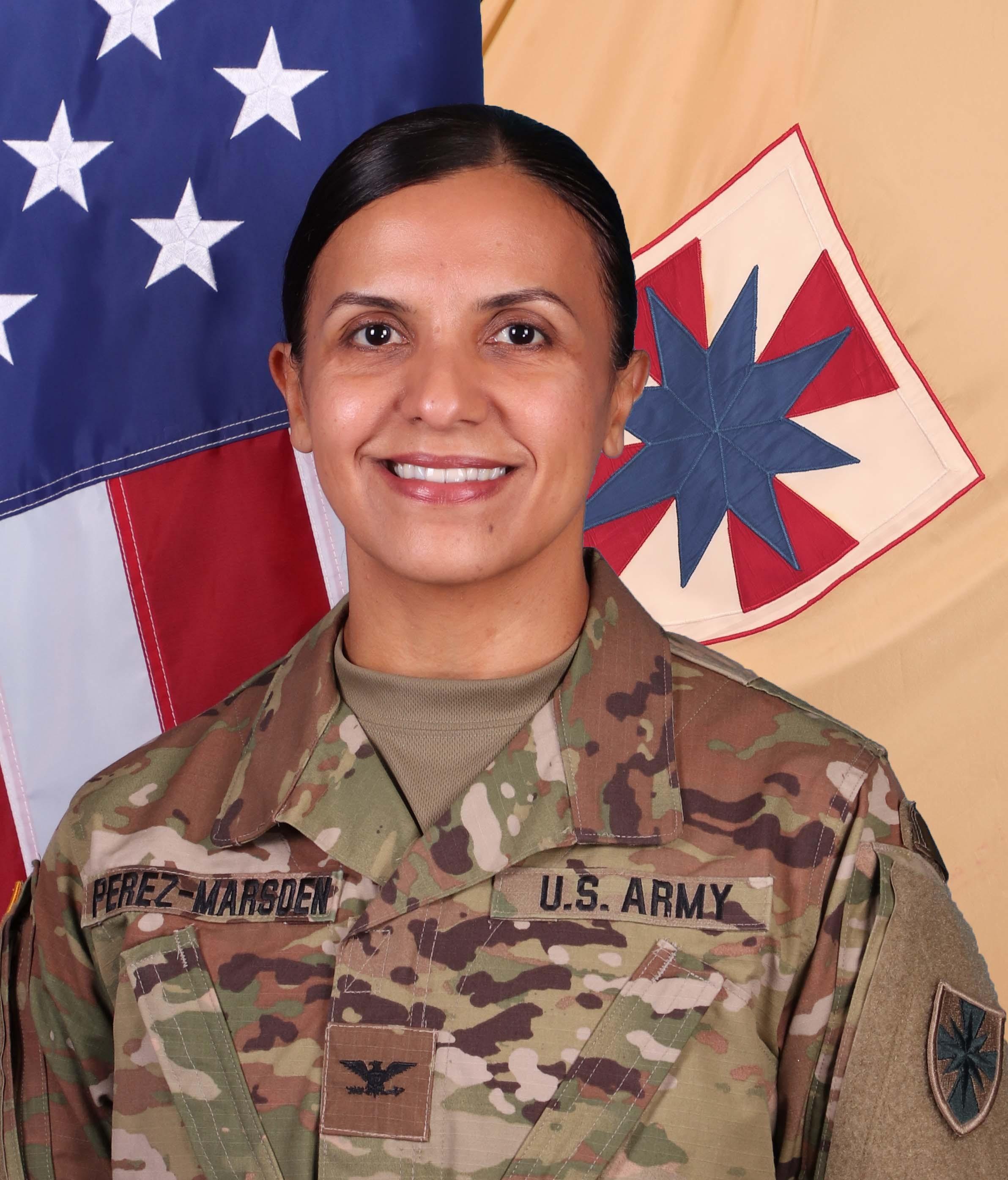 Colonel Letsy A. Perez-Marsden