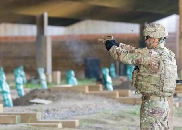 USARPAC Best Soldier 2020 Completes Pistol Range Event