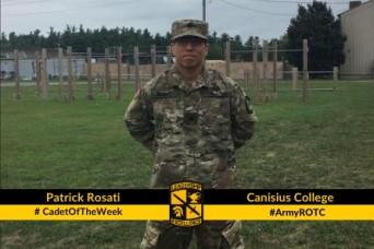 Cadet of the Week: Patrick Rosati