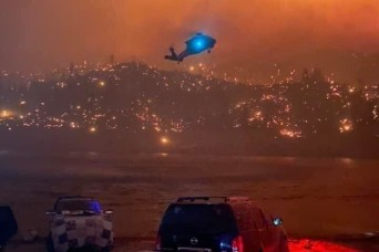 40th CAB rescues nearly 400 stranded by Creek Fire