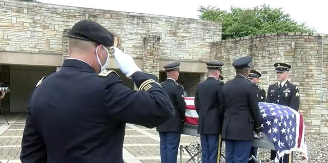 Fort Detrick Officer Assists Homecoming of U.S. Soldier Killed in Action in 1950