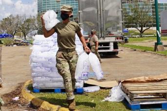 Louisiana National Guard responds to hurricane, COVID-19