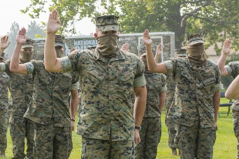 Former Marine Reservists enlist in Idaho National Guard
