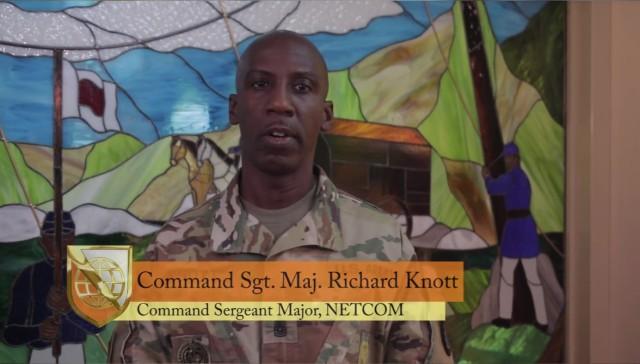 Command Sgt. Maj. Knott