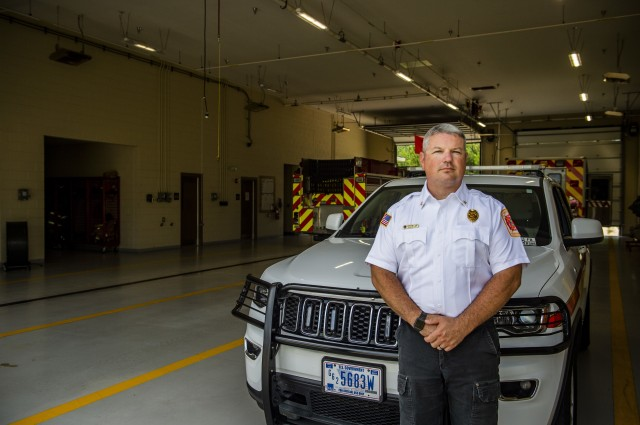 The Defense Department recognized Fort Benning's own Assistant Chief Ryan Earwood as the Fire Service Instructor of the Year for 2019.
