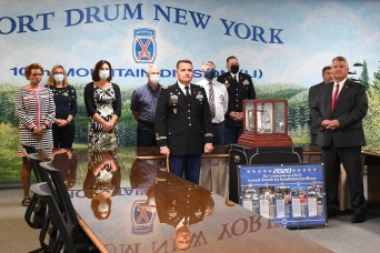 Fort Drum earns installation excellence award as top Army post