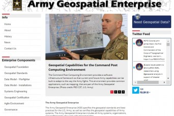 Army Geospatial Enterprise launches new website