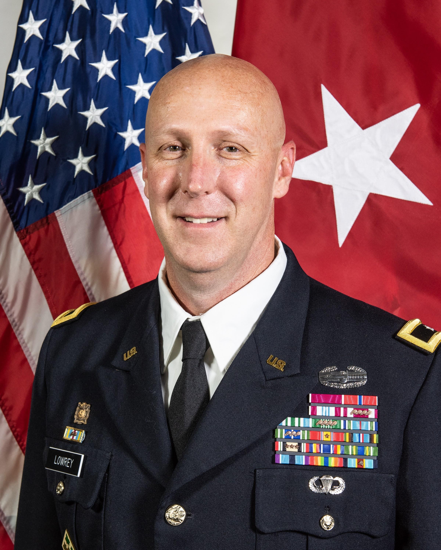 Brig. Gen. Douglas Lowrey