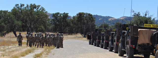Soldiers in all Army components and multiple military occupational specialties (MOS) attended the first Fort Hunter Liggett, California, Joint Light Tactical Vehicle (JLTV) Operator New Equipment Training Course on August 9-14, 2020. The 94th Training Division – Force Sustainment leads the JLTV driver's training courses for all Army's components. (U.S. Army Reserve photo by Staff Sgt. Eric Sievert)