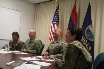 Kansas, Armenian leaders talk military models in partnership exchange