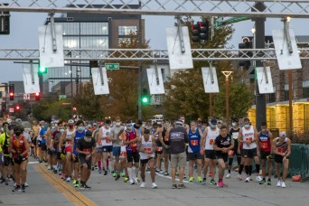 2020 National Guard Marathon Team Time Trials held in Omaha