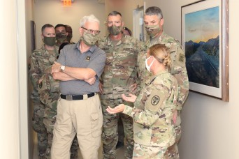 Army Under Secretary, Vice Chief of Staff visit Weed ACH