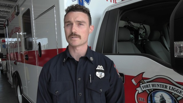 Noah Munds, Firefighter/Paramedic, Fort Hunter Liggett