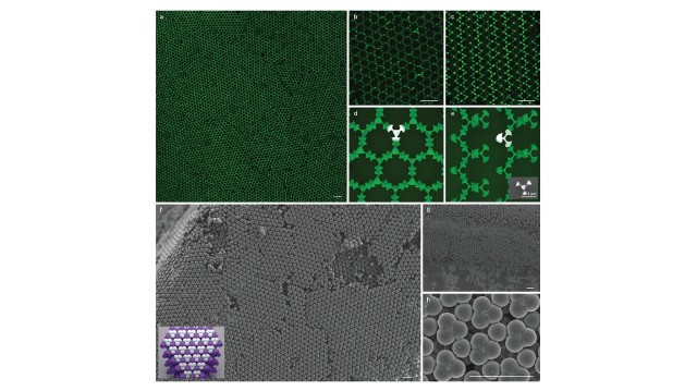 Self-assembled colloidal diamond lattices could open the door to lightweight high-efficiency lasers, precise light control with 3D photonic circuits, and new materials for managing thermal or radio signatures.