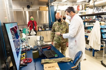 Army lab welcomes new sergeant major