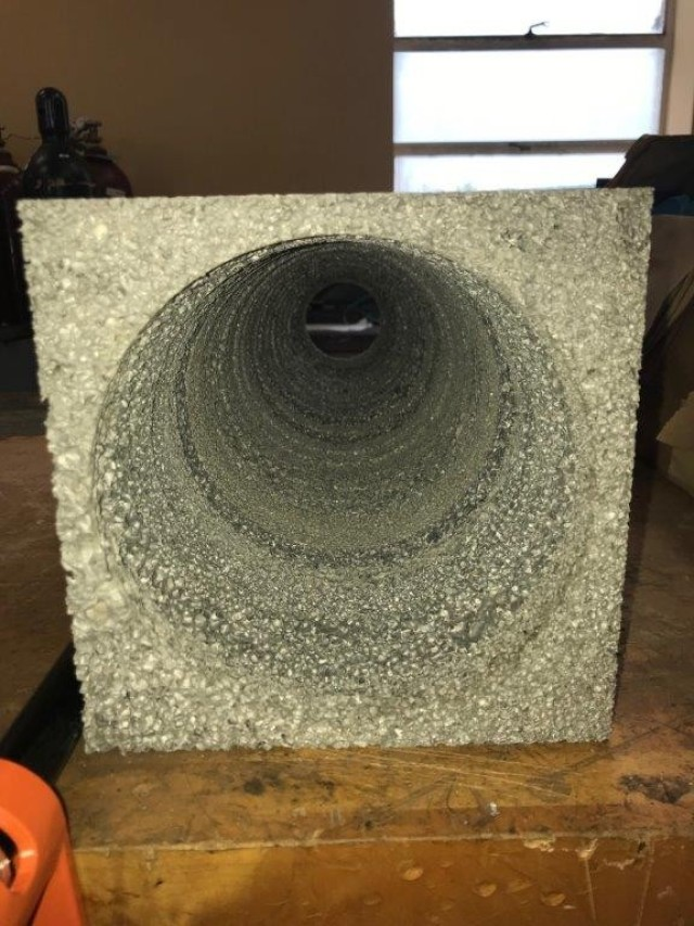 Army tests aluminum foam for protection against blasts