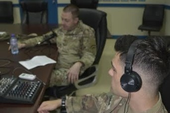 Task Force Spartan podcast communicates intel in new way