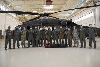 Wyoming National Guard hosts Tunisian Air Force in SPP event