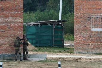 Ukraine, U.S. Forces train for urban operations