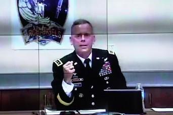 SMDC leader speaks at Virtual Fires Conference