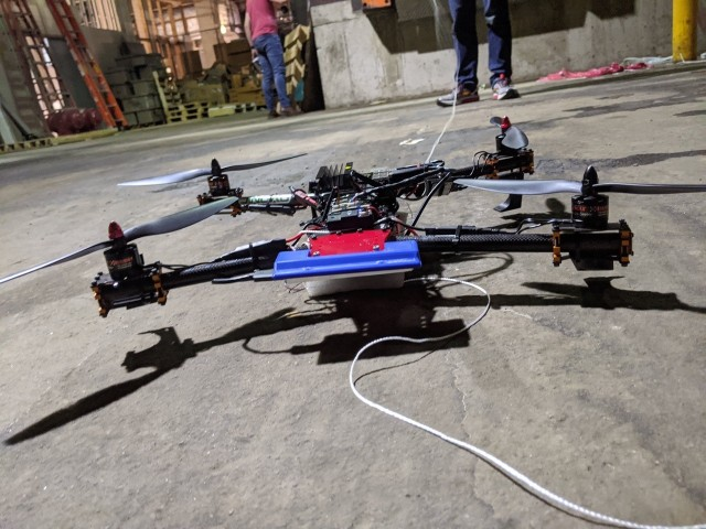 The CCDC Army Research Laboratory collaborates with the University of Illinois Chicago on research to develop algorithms for small drones that will lead to software to help small UASs autonomously return from military missions to unmanned ground vehicles for recharging.
