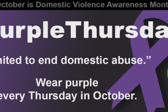 Domestic Violence Awareness month events strengthen families, unite community