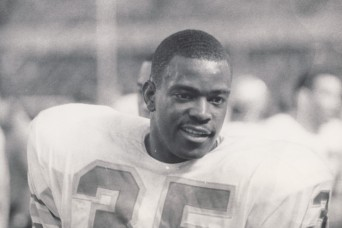 From pro football player to Vietnam Soldier