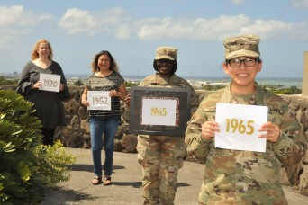 Ladies of Pacific Team Signal-Cyber celebrate their right to vote