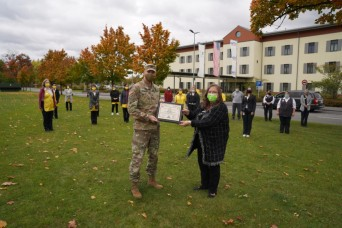 Tower Barracks Army Lodging team receives excellence award