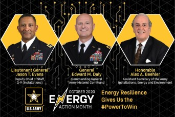 Video Collage:  Army Leaders Support Energy Action Month