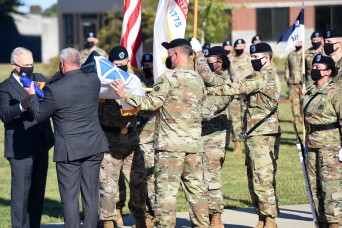 Historic V Corps activates at Fort Knox on 'picture perfect' day