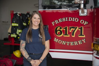 Presidio of Monterey Fire Department welcomes first female firefighter