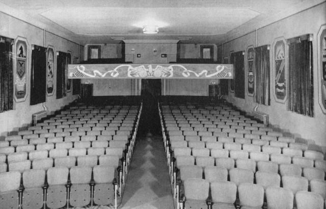 Post theater interior
