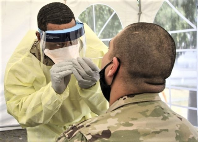 Army Medicine Europe maintains robust COVID testing and reporting process
