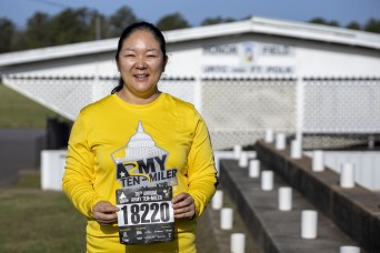 Run like no one's watching – Fort Polk Soldier completes virtual Army Ten-Miler