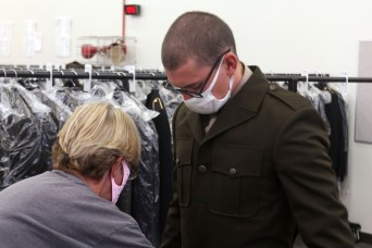 Fort Sill basic combat trainees issued new Army Green Service Uniforms